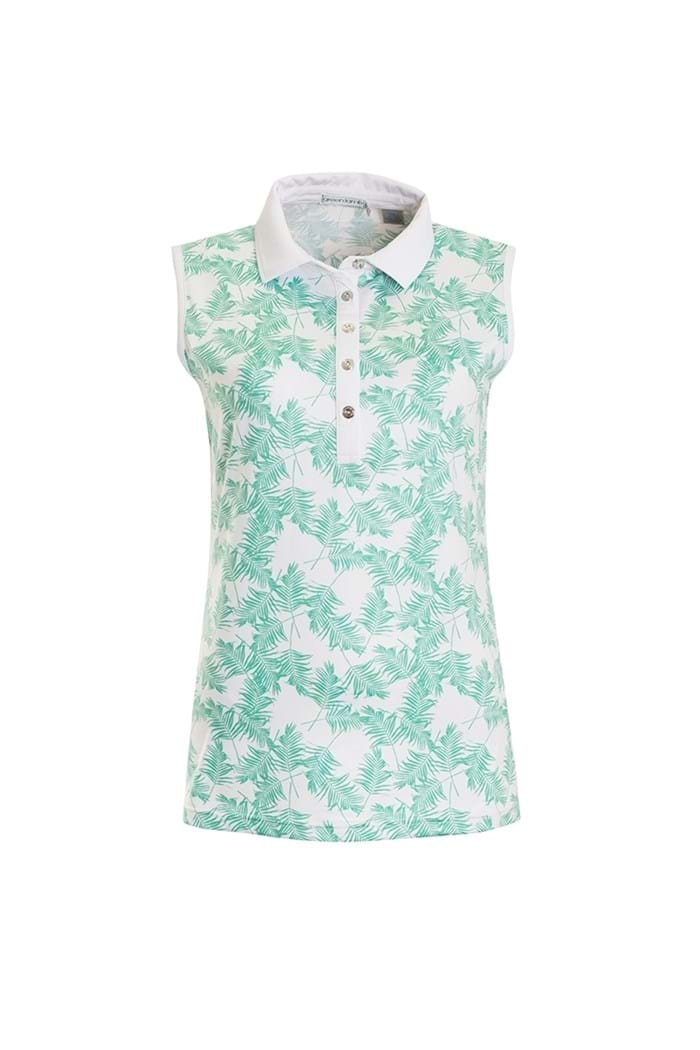 Picture of Green Lamb ZNS Pearl Sleeveless Polo Shirt - Green