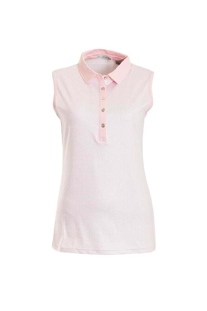 Picture of Green Lamb ZNS Pearl Sleeveless Polo Shirt - Pink
