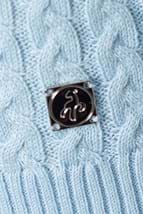 Picture of Green Lamb zns Brid Cable Sweater - Blue