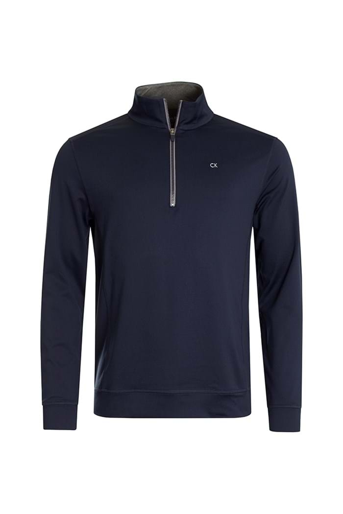 Picture of Calvin Klein Galaxy 1/2 Zip - Navy / Silver
