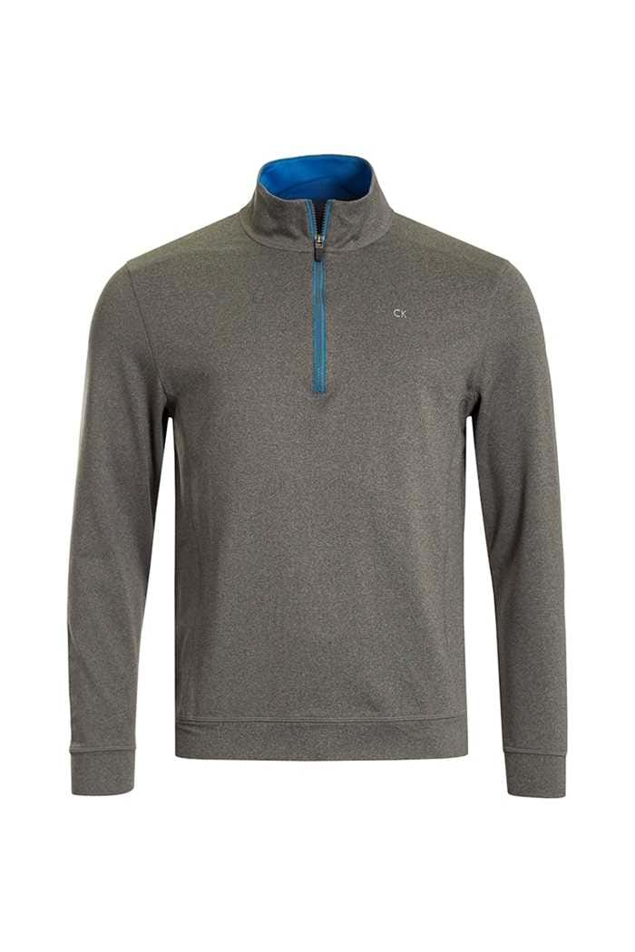Picture of Calvin Klein ZNS Galaxy 1/2 Zip - Silver / Azure