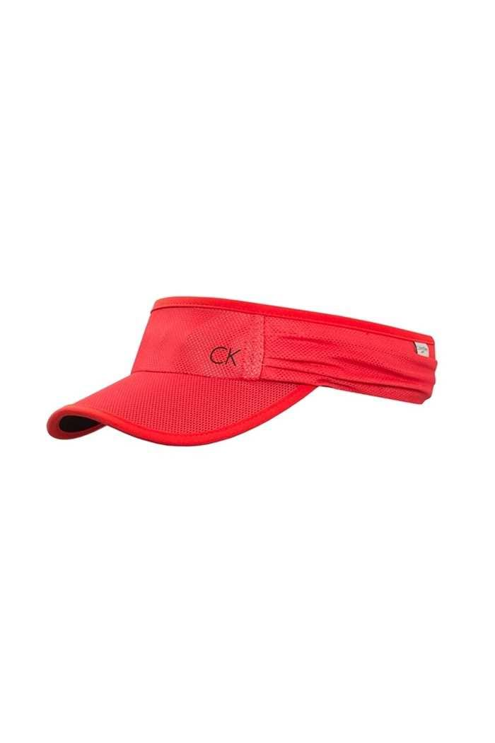 Picture of Calvin Klein ZNS Tech Visor - Red