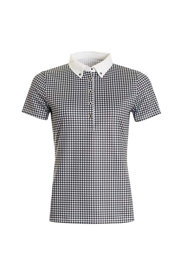 Picture of Calvin Klein ZNS Checkered Polo - White / Black
