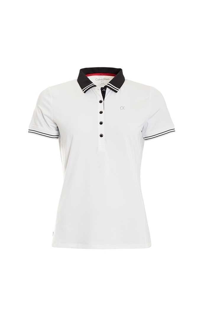 Picture of Calvin Klein ZNS Island Polo - White / Black