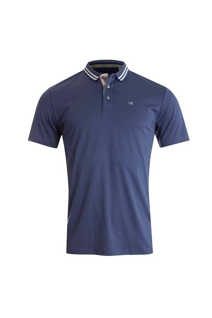 Picture of Calvin Klein zns Jersey Tech Maddison Polo - Navy Marl