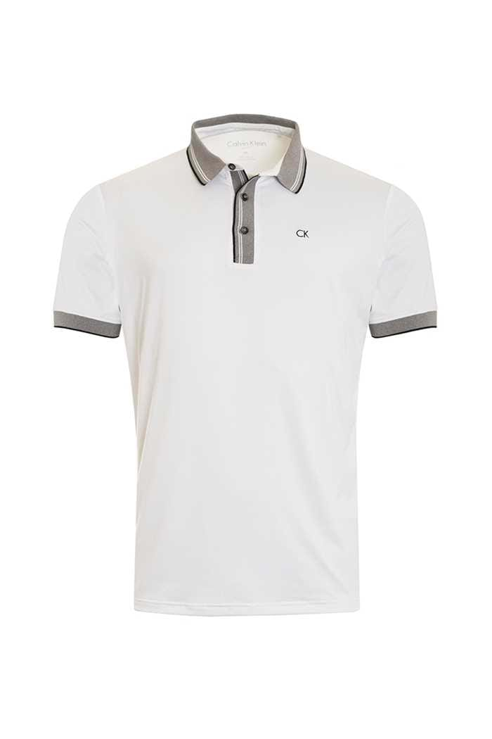 Picture of Calvin Klein zns  Parallel Polo - White / Silver