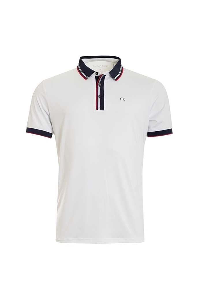 Picture of Calvin Klein ZNS Parallel Polo - White / Navy