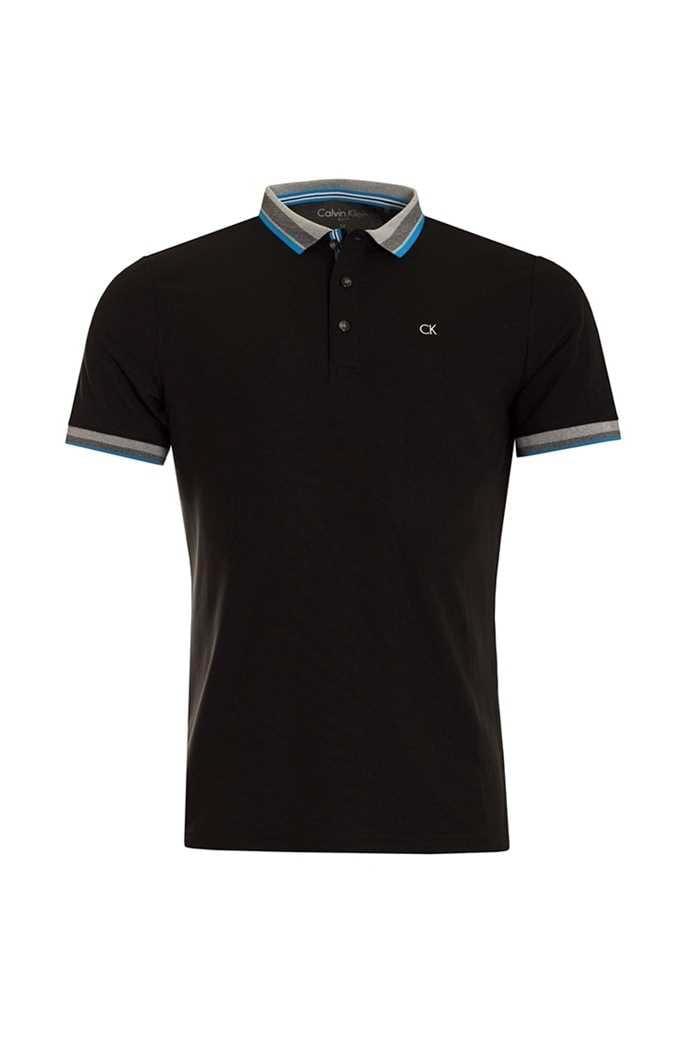 Picture of Calvin Klein zns Spark Polo Shirt - Black