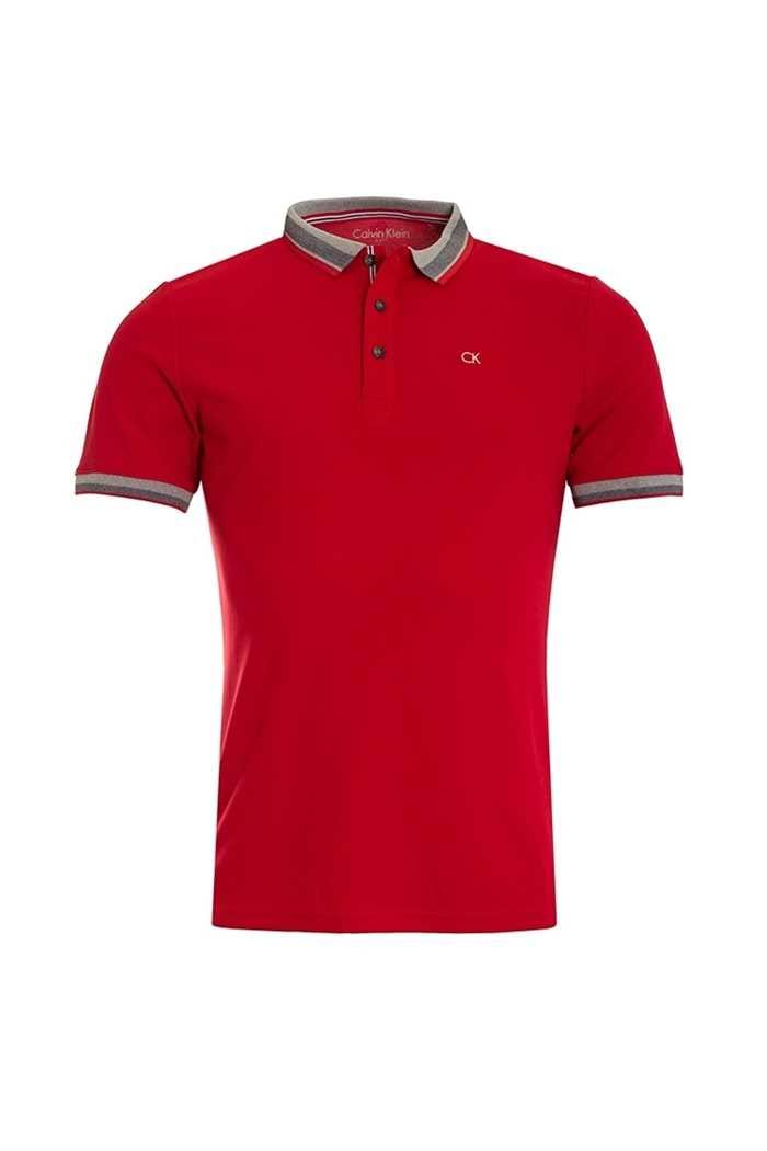 Picture of Calvin Klein ZNS Spark Polo Shirt - Red