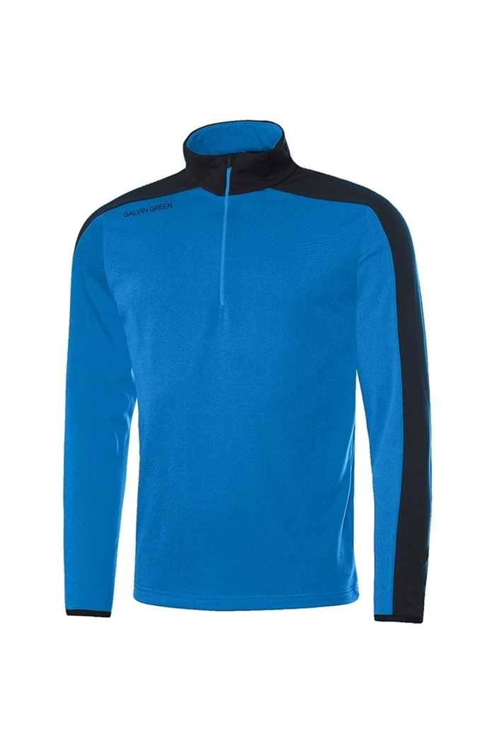 Picture of Galvin Green zns  Dex Insula Pullover - Kings Blue / Black