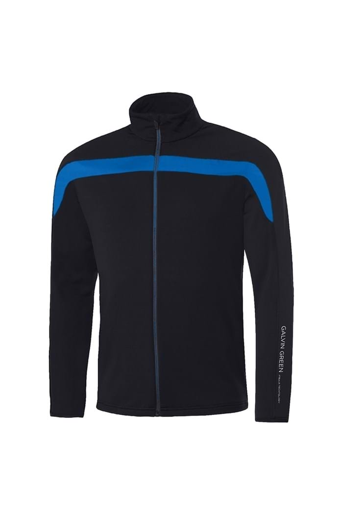 Picture of Galvin Green zns Davis Insula Jacket - Black / Kings Blue