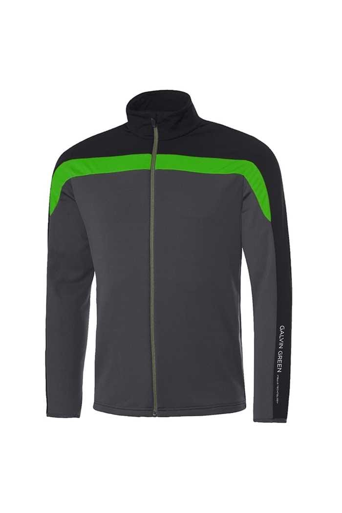 Picture of Galvin Green zns Davis Insula Jacket -Iron / Black / Green