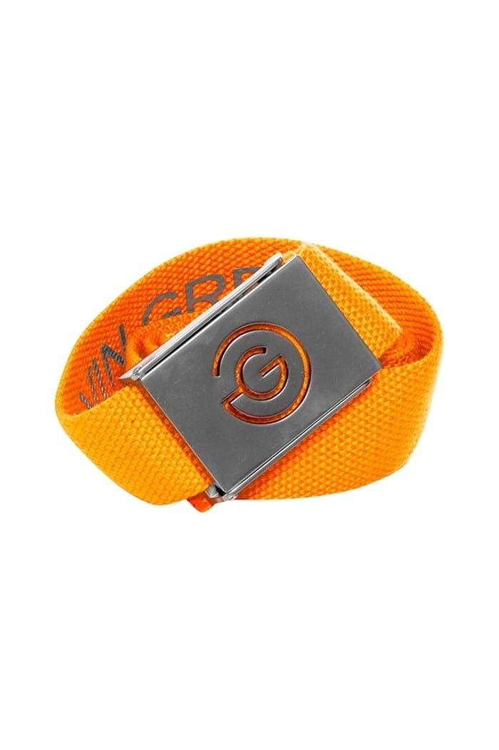 Picture of Galvin Green zns Wade Nylon Belt - Orange / Iron Grey