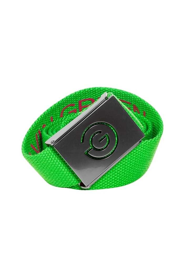 Picture of Galvin Green zns Wade Nylon Belt - Fore Green / Cerise