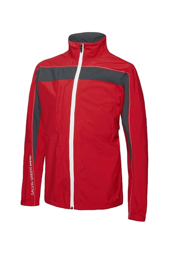 Picture of Galvin Green zns Reed PacLite Jacket - Electric Red / Gun Metal