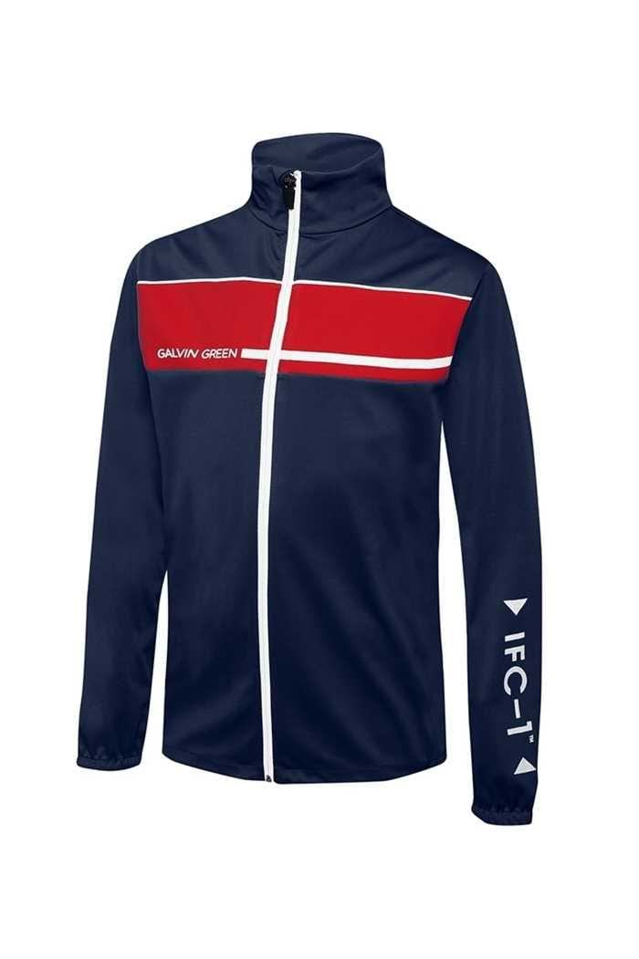 Picture of Galvin Green zns Ringo Interface Jacket - Midnight Blue / Electric Red