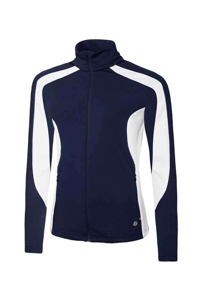 Picture of Galvin Green zns Dominique Insula Jacket - Navy / White