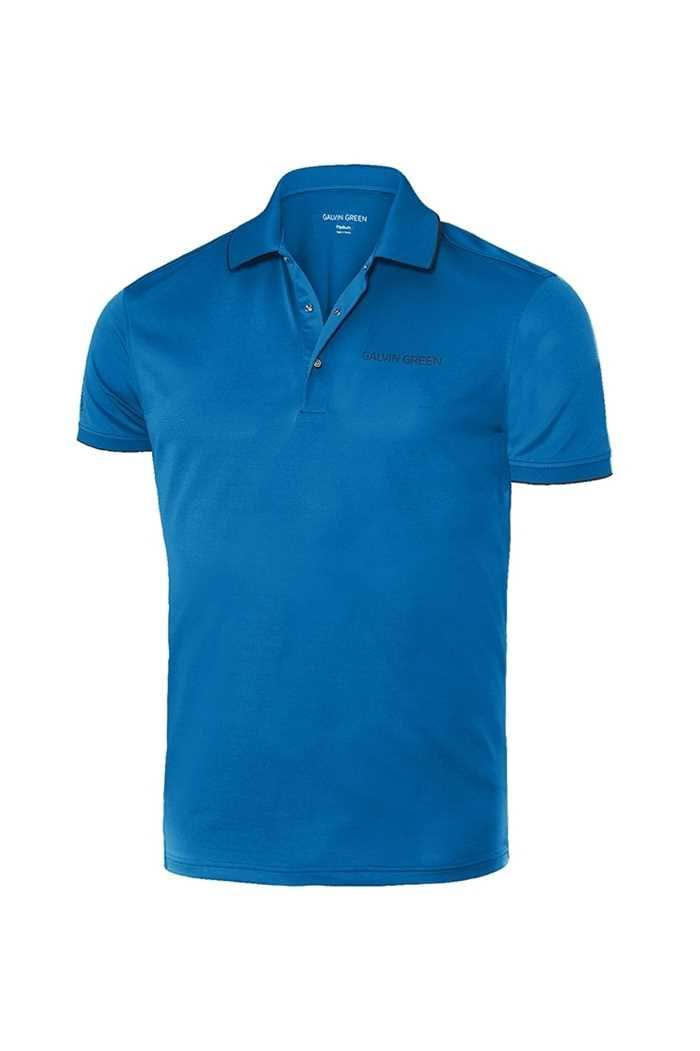 Picture of Galvin Green ZNS Marty Tour V8+ Golf Shirt - Kings Blue / Black