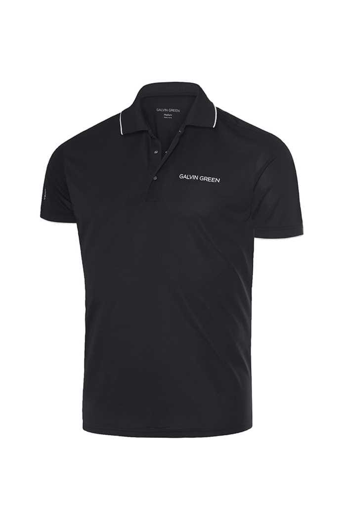 Picture of Galvin Green ZNS Marty Tour V8+ Golf Shirt - Black / White