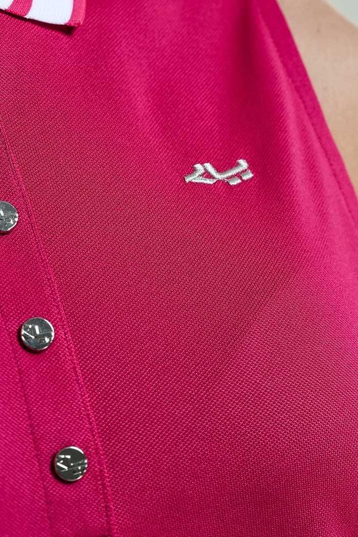 Picture of Rohnisch ZNS Pim Sleeveless Polo Shirt - Hibiscus