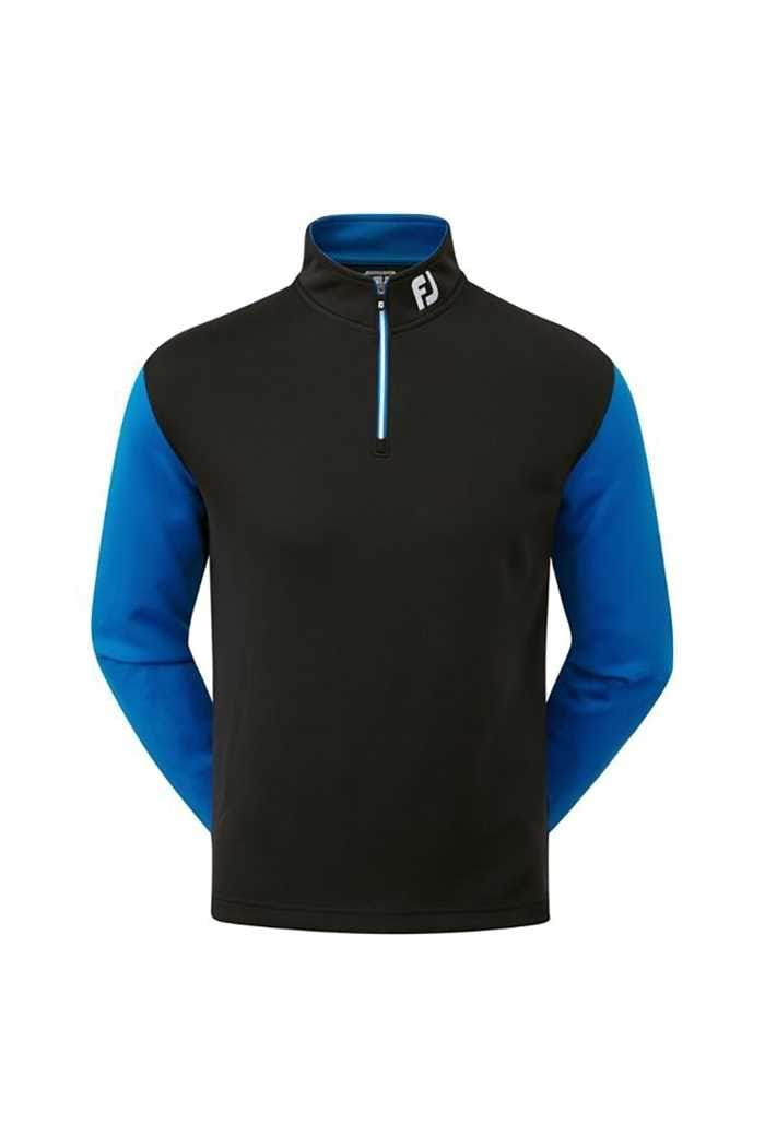 Picture of Footjoy ZNS Double Layer Contrast Chill-out - Black / Colbalt
