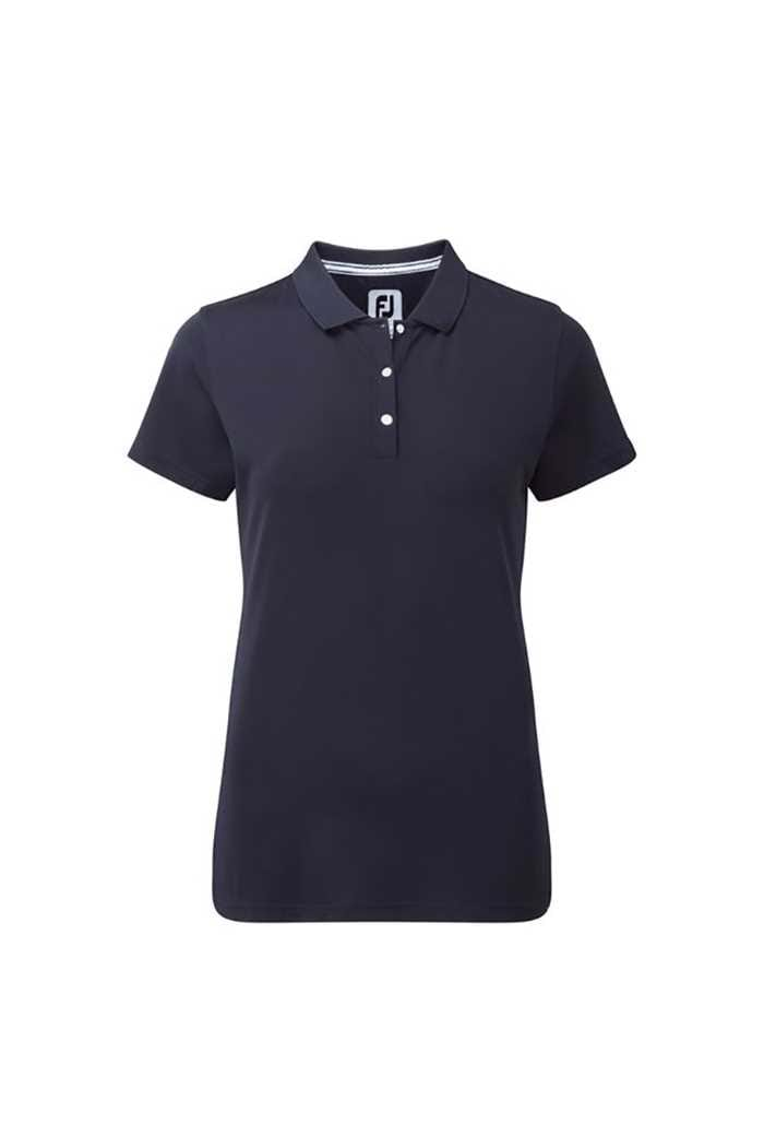 Picture of FootJoy zns Ladies Stretch Pique Polo - Navy
