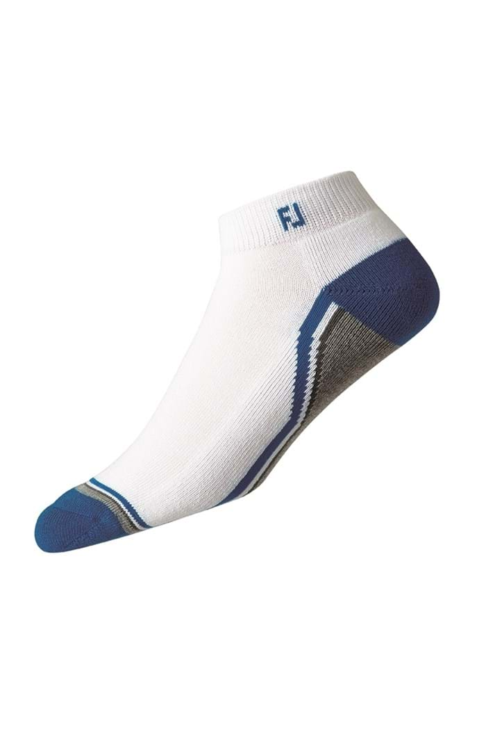 Picture of FootJoy ZNS ProDry Fashion Sport Sock - White / Blue / Grey