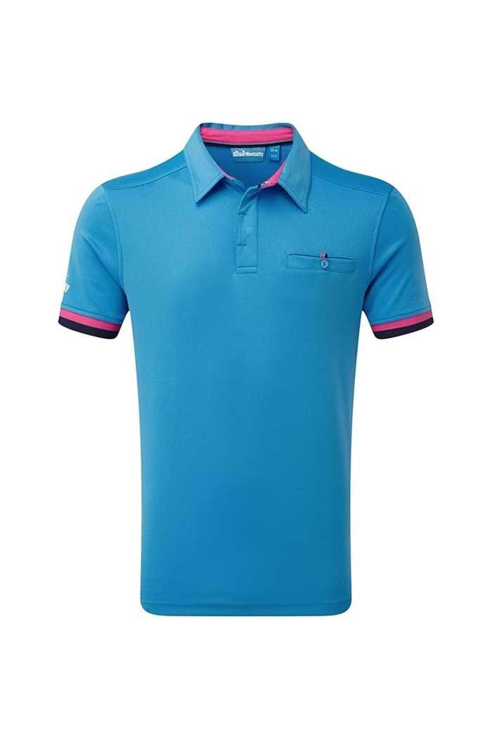 Picture of Bunker Mentality ZNS CMax Duo Core Tech Polo Shirt - Bunker Blue