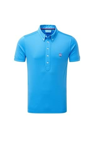 Picture of Bunker Mentality CMax Frank Polo Shirt - Bunker Blue