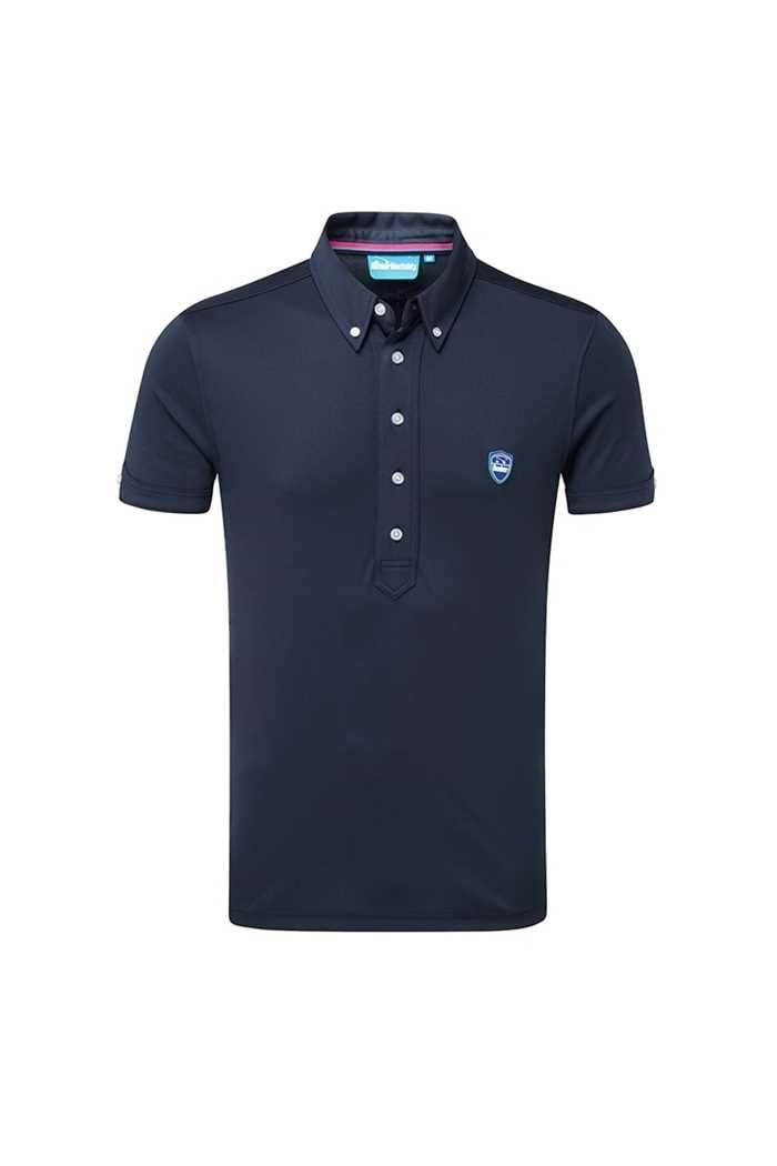 Picture of Bunker ZNS Mentality CMax Frank Polo Shirt - Navy