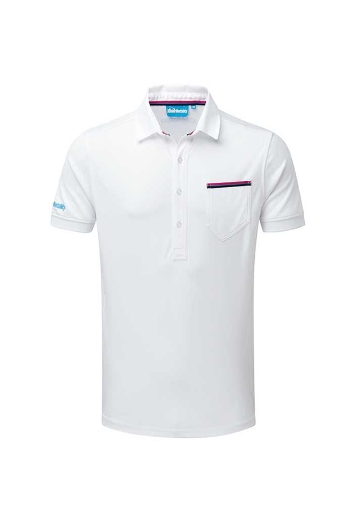 Picture of Bunker Mentality ZNS CMax Jack Polo Shirt - White