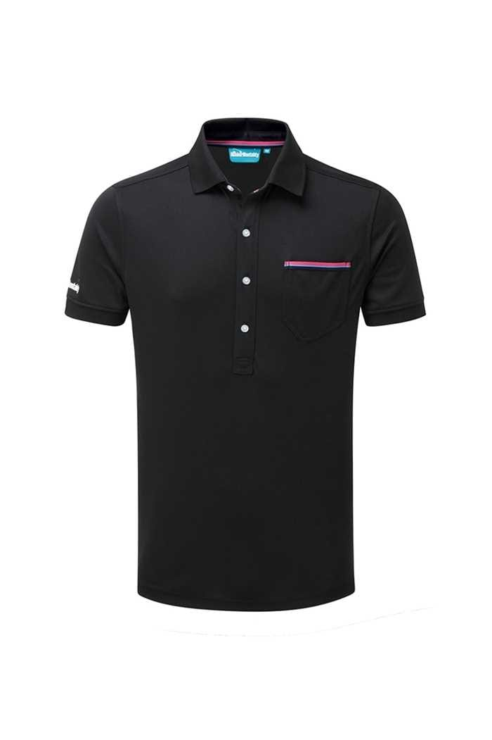 Picture of Bunker Mentality CMax Jack Polo Shirt - Black