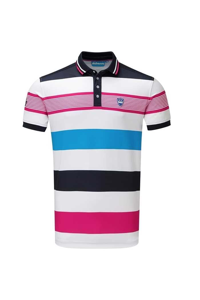 Picture of Bunker Mentality ZNS CMax Bold Stripe Polo - Navy