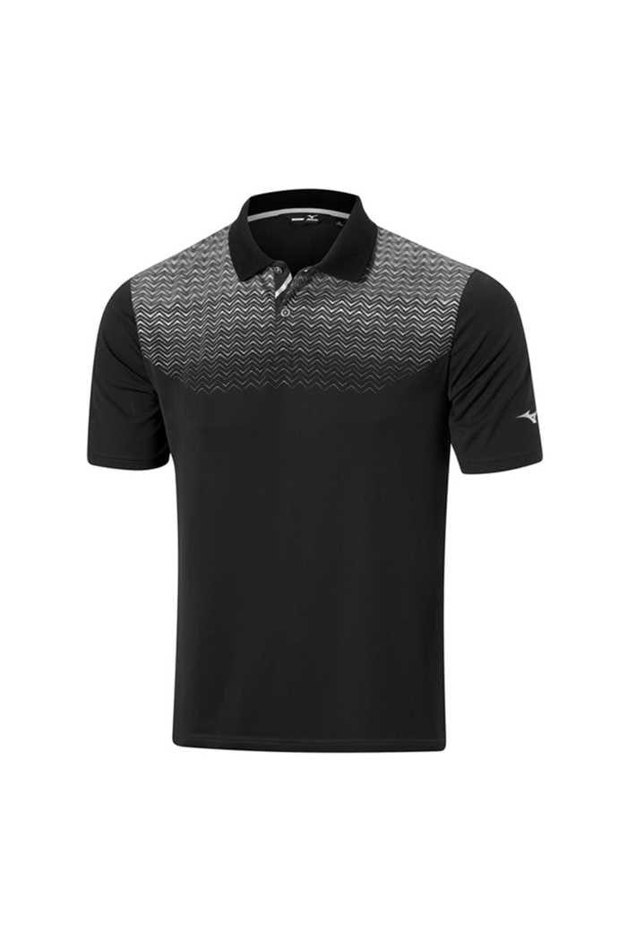 Picture of Mizuno zns Solar Cut HPP Polo Shirt - Black