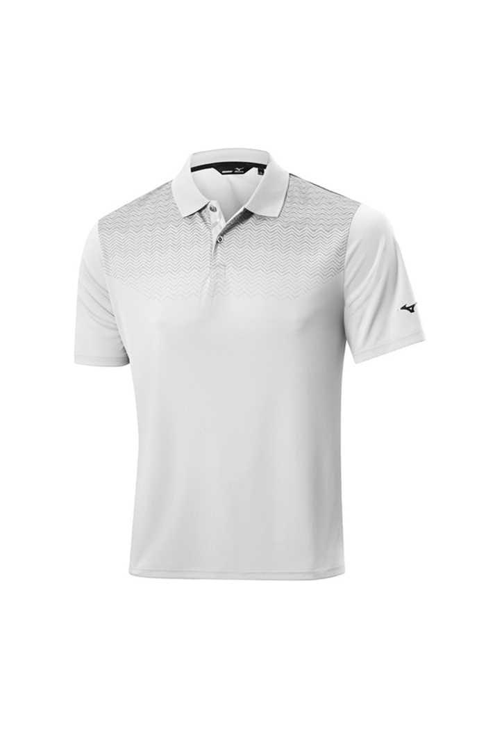 Picture of Mizuno ZNS Solar Cut HPP Polo Shirt - White