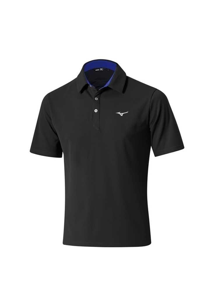 Picture of Mizuno Solar Cut Polo Shirt - Black