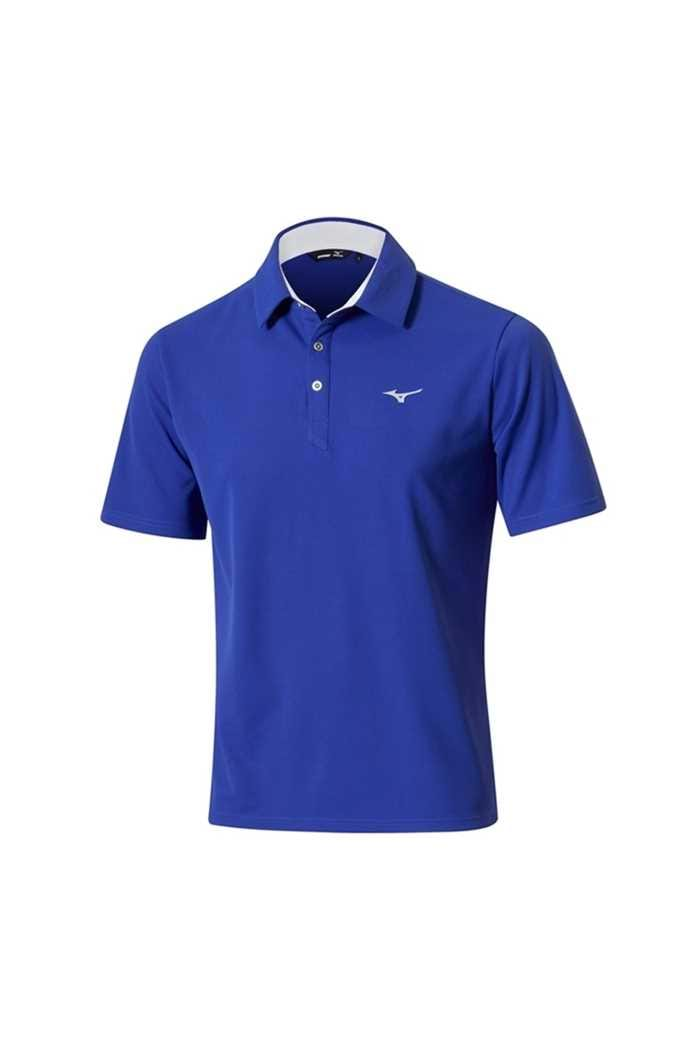 Picture of Mizuno zns  Solar Cut Polo Shirt - Surf Blue
