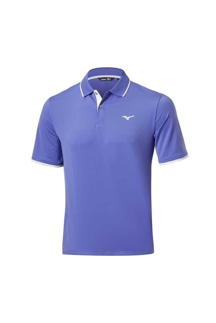 Picture of Mizuno zns Stretch Polo Shirt - Baja Blue