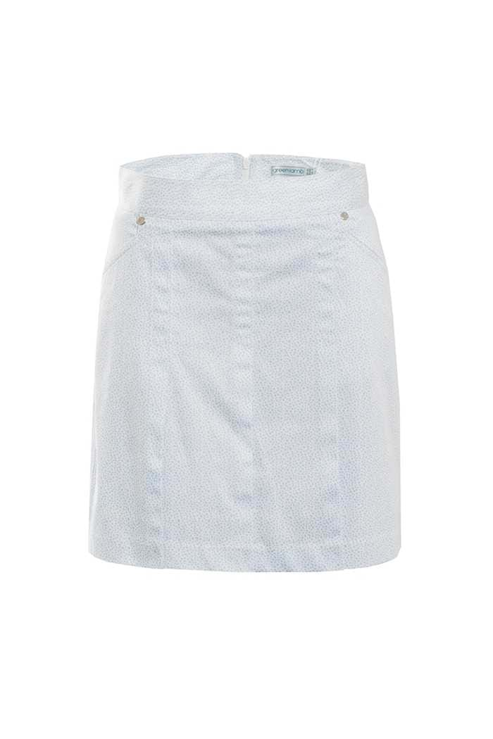 Picture of Green Lamb  Trady  Patterned Skort  - Blue
