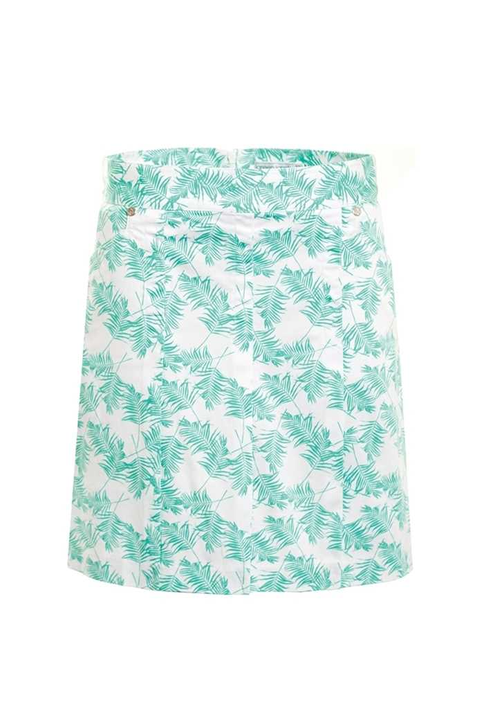 Picture of Green Lamb ZNS Trady Patterned Skort - Green