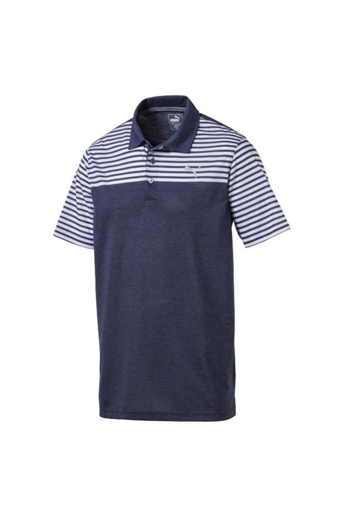 Picture of Puma Golf Clubhouse Polo Shirt - Peacoat