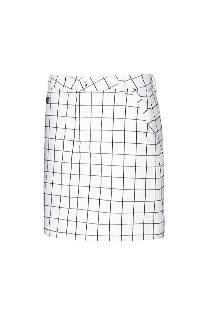 Picture of Rohnisch ZNS Tone Skort  / Skirt - Check White