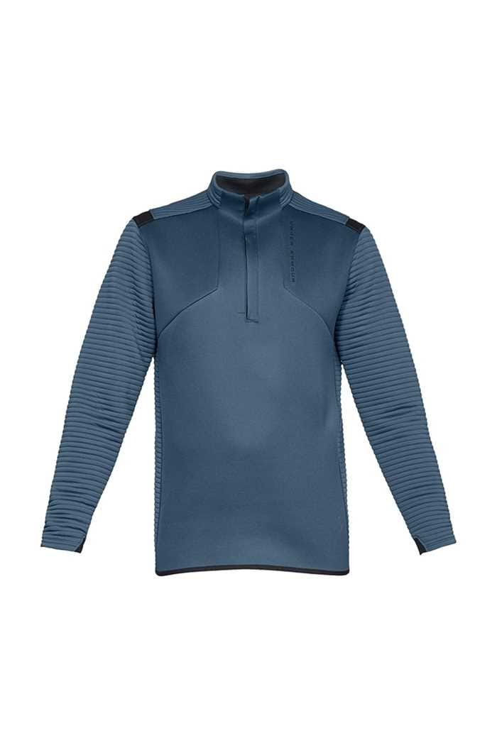 Picture of Under Armour zns UA Storm Versa Daytona 1/2 Zip Sweater - Petrol Blue 414