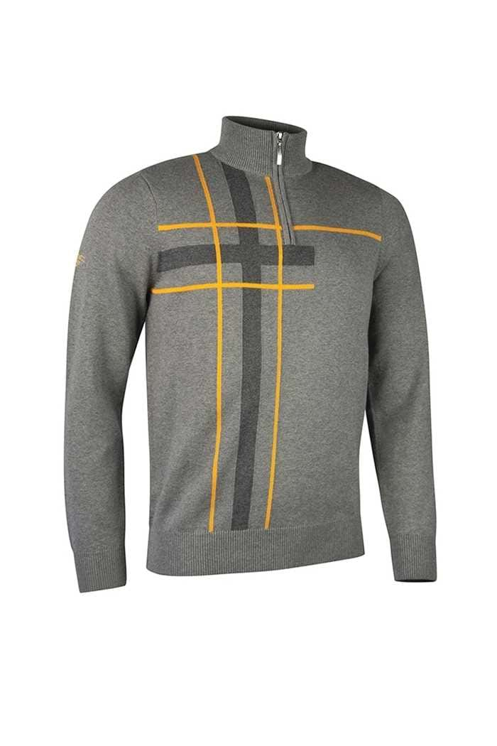 Picture of Glenmuir Cupar Sweater - Mid Grey