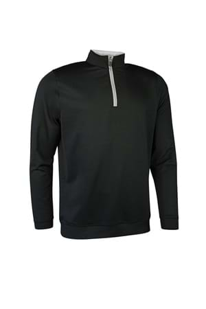 Picture of Glenmuir Wick  Performance Midlayer - Black / Light Grey