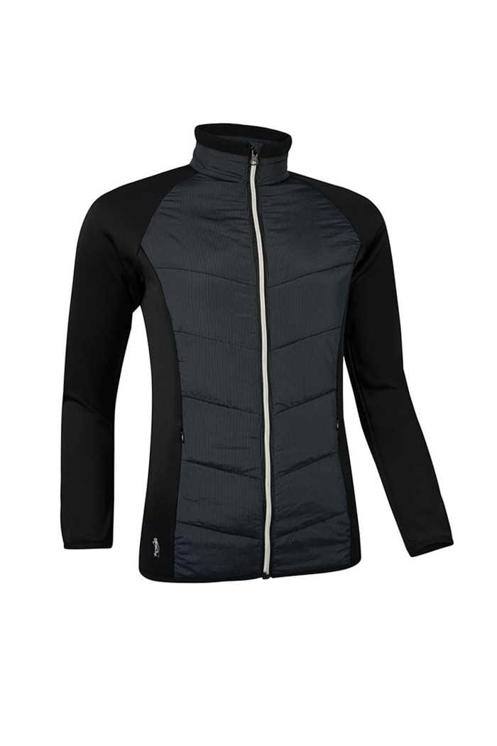 Picture of Glenmuir ZNS Madison Quilted Jacket - Black / Silver