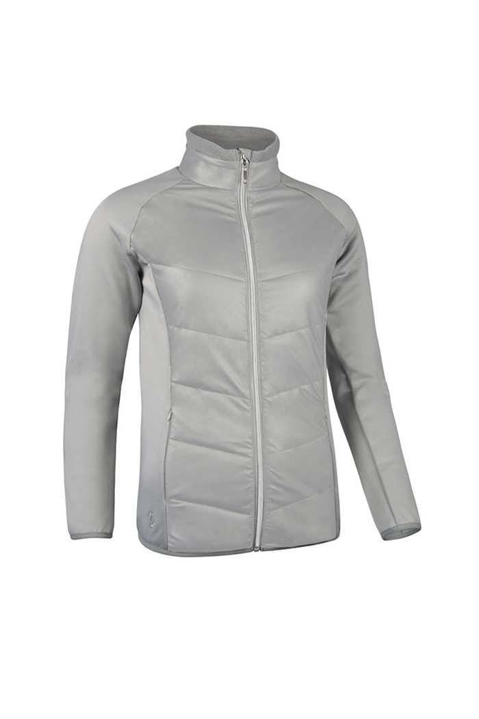Picture of Glenmuir zns Madison Quilted Jacket - Stardust / Silver