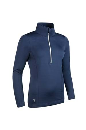 Picture of Glenmuir Carina Midlayer Top - Navy