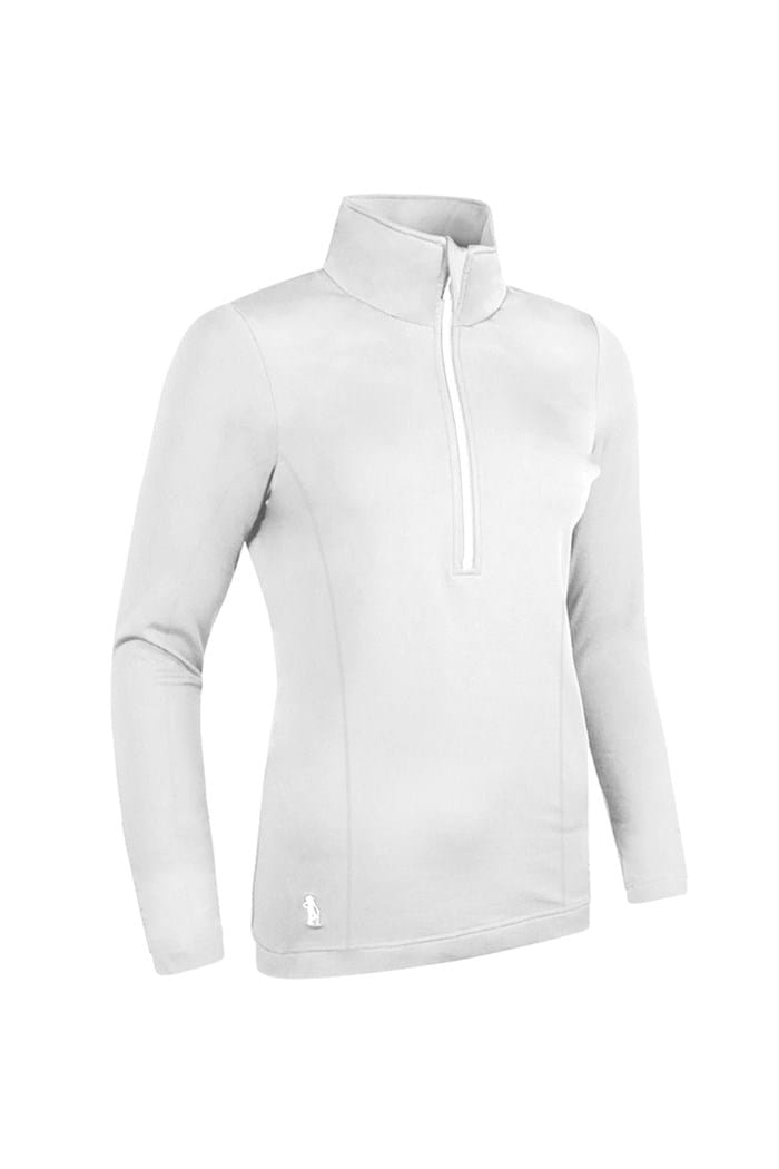Picture of Glenmuir Carina Midlayer Top - White