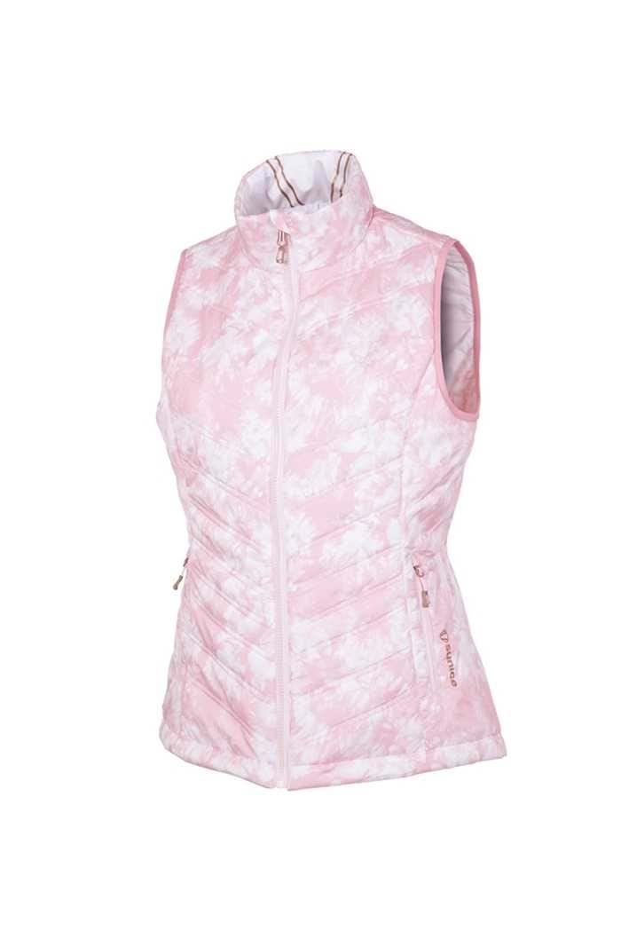 Picture of Sunice ZNS aci Reversible Gilet / Vest - Orchid Pink / White